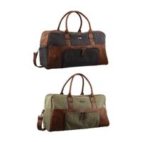 PIERRE CARDIN CANVAS OVERNIGHT BAG